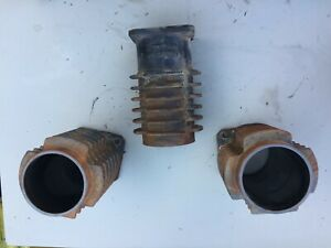 Used Lindsay 40 Commercial Air Compressor Parts Used 3 Cylinder Jugs