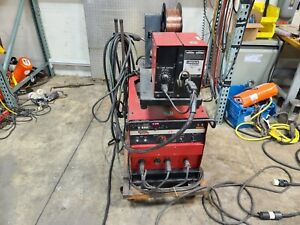 Lincoln Idealarc Cv 300 Mig Welder Ln 7 Wire Feed