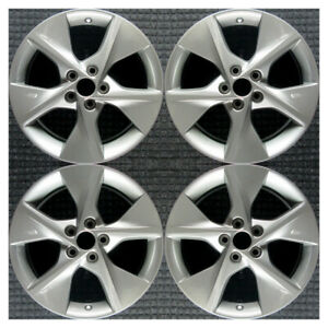 Set 2012 2013 2014 Toyota Camry Oem Factory Original Charcoal Wheels Rims 69605