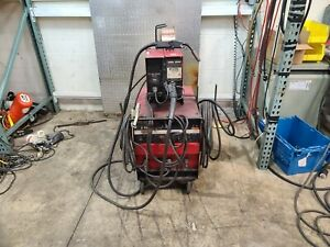Lincoln Idealarc Cv 300 Mig Welder Ln 7 Wire Feed 2