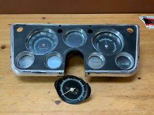 Oem 1967 1972 Chevy Pickup Truck C10 K10 Instrument Cluster Gauges