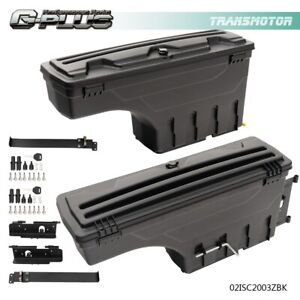 For 2007 2020 Toyota Tundra Rear Left Right Side Truck Bed Storage Box Toolbox