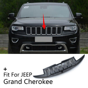 Front Bumper Center Grille Radiator Grill Fit For 2014 2016 Jeep Grand Cherokee