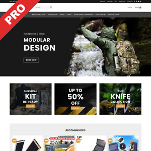 Turnkey Survival Dropshipping Store Professional Website Business For Sale