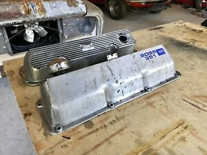 Oem Boss 302 351 Valve Covers Mustang Cougar Cleveland Ford Ho Closed Chamber
