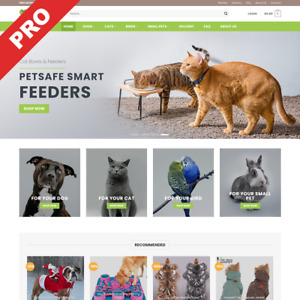 Pet Store Turnkey Dropshipping Website Premium Automated Business For Sale