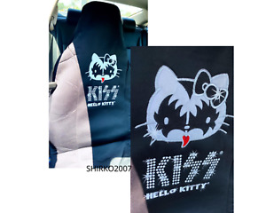 Hello Kitty Kiss High Back Seat Covers