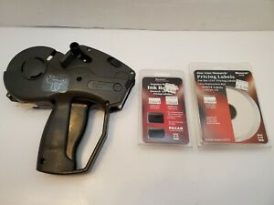Monarch Paxar 1131 One Line Price Tag Label Gun W Pricing Labels Ink Roller