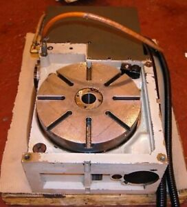 12 5 Inch 4th Axis Cnc Mill Indexer Rotary Table See Video Milling Center