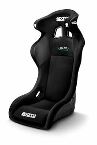 Sparco Pilot Qrt Competition Racing Seat Fia Certified Approved Black