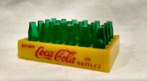 Rare Vintage Original Buddy L Coca Cola Bottles And Crate for Delivery Truck