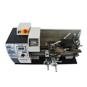 Intbuying 7 x12 Metal Bench Lathe Mini Precision Wood Lathe Turning Machine