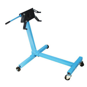 Rotating Engine Stand 1000lbs Capacity Motor Stand Automotive Lift With Weels