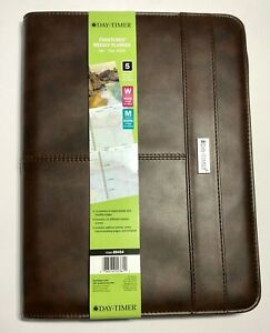 2020 Day timer Faux Leather Zip Padfolio 2020 Coastline 8 5x11 5 Planner