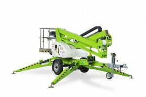 New 2021 Niftylift Tm42te Electric Trailer Mounted Towable Boom 48 Work Height