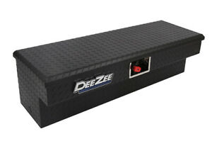 New Dee Zee Padlock Side Mount Tool Box Black
