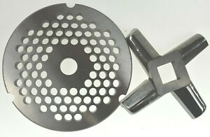 32 X 1 4 6mm Stainless Meat Grinder Plate Heavy Duty Knife For Hobart Biro
