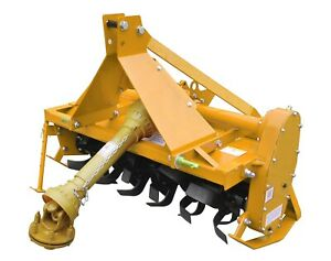 Sigma 3 Point Hitch Rotary Tiller 4 Ft 48 With Pto Shaft