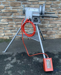 Ridgid 300 T2 Pipe Threader 1 2 2 Rigid 700 1822 1224 535 fully Serviced 5