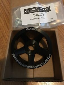 Whipple Supercharger 4 125 6 Rib Pulley