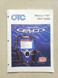 Otc 551252 Genisys Evo System 3 0 User S Guide Manual Instructions Spx