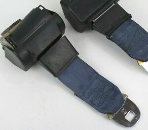 1978 1987 Monte Carlo Camaro Regal Malibu Male Rear Seat Belt Buckle Retractor1