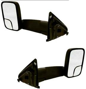 Towing Mirrors For Dodge Truck 1500 2002 2008 03 08 2500 3500 7x10 Pair Manual