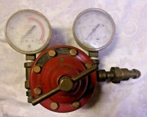 Vtg Smith Welding Oxygen Acetylene Welding Regulator Gauges Steam Punk