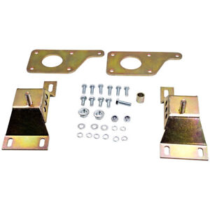 Swap Adapter Plates W 4 6 Solid Motor Mounts For Ford Mustang W Ls Gm Bolcks