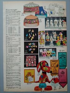 1972 Vintage PAPER PRINT AD Coca Cola lamp Snoopy toys musical puppy jewel box