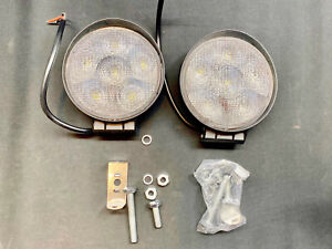 2pcs Led Work Light Spot Lights For Truck Off Road Tractor Atv Round 4 5 Inch