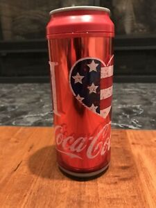 Cool Gear Coca Cola Can Double Wall Insulated Travel Tumbler Cup 16 oz
