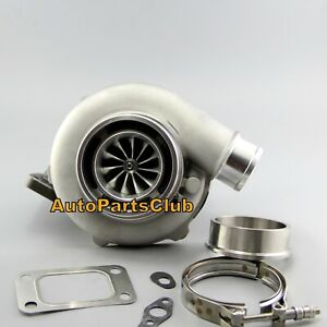 Gtx3076r Turbo Dual Ball Bearing A R 63 T3 Flange 90mm Vband With Billet Wheel