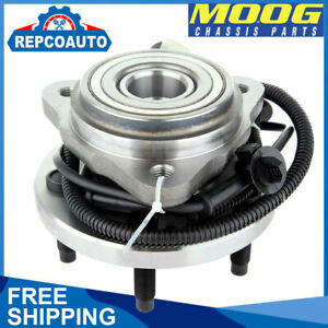 Moog Front Wheel Hub Bearing For 2001 2005 Ford Explorer Sport Trac 4wd Awd