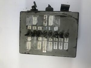 Hoffman Steel Enclosure 8 X 6 X 3 1 2 With Eight Toggle Switches