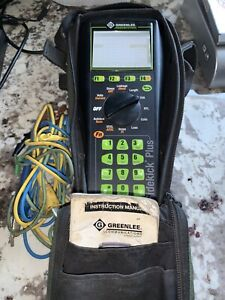 Greenlee Sidekick Plus Tester 1155 5001 Advanced Cable Tester Meter