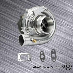 High Rpm Boost Racing Turbo Charger T3 t4 To4e 63 A r 350 hp Ford Chevy Gm Vw