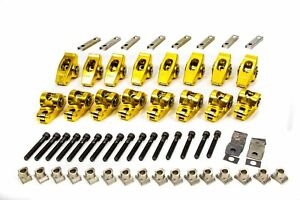 Fast Formerly Crane 1 6 Gold Race Roller Rocker Arms Small Block Ford 16 Pc P N