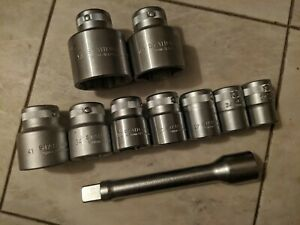 Stahlwille 3 4 Dr Metric Socket Set Extension Germany Nice Snap On Mac Hazet