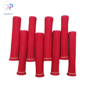 Red 8pcs 1200 Spark Plug Wire Boots Heat Shield Protector Sleeve Sbc Bbc