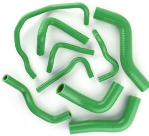 Green Silicone Radiator Hose For 89 93 Mazda Roadstar Miata Mx 5 Na6ce B6ze 1 6l