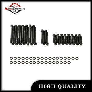 Cylinder Head Bolt Kit For Sbc Small Block Chevy Hex Head 350 383 400