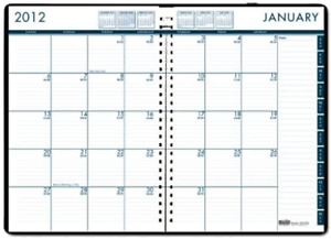 House Of Doolittle 24 7 Daily Appointment Book Monthly Planner 2013 7 X