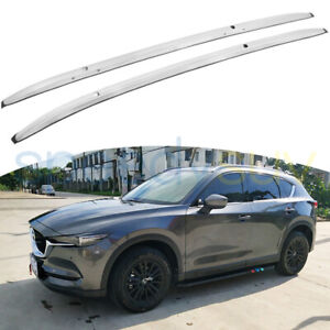 Us Stock Luggage Roof Rack Rail Fit For Mazda Cx 3 2016 2021 Baggage Carrier