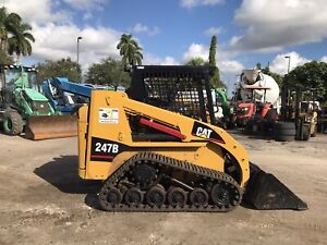 2014 Caterpillat 247b Skidsteer Loader