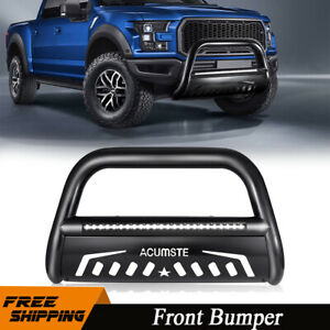3 Bull Bar Bumper Guard W Led Light For 2004 20 Ford F 150 03 17 Expedition
