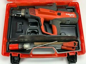 Hilti Dx 76 Powder Actuated Tool With Hard Case And X 76 f n15