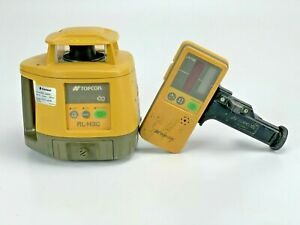 Topcon Rl h3c Red Rotary Laser Level With Ls 70c Receiver Clamp