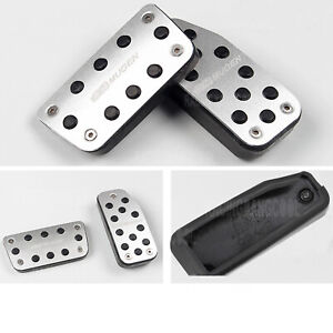Silver Mugen Pedals Foot Accelerator Brake Pedal Clutch Pedals For At Honda Fit