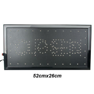 Led Business Sign 2 Color 9 8 20 47 Indoor Message Display Open closed Useful